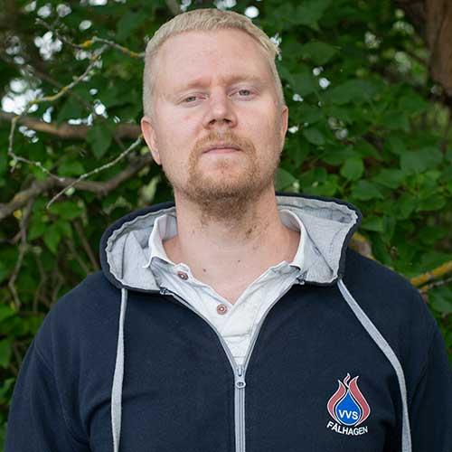Jesper VVS Tekniker VVS Teknik Fålhagen